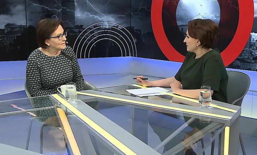 """Ewa Kopacz w programie """"Fakt Opinie"""""""