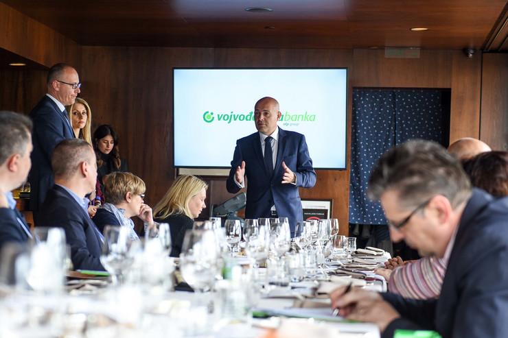 Predrag Mihajlovic, predsednik izvrsnog odbora Vojvodjanske banke