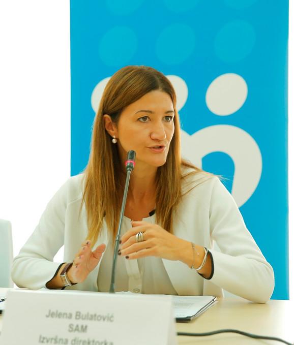 Jelena Bulatović, izvršna direktorka SAM-a