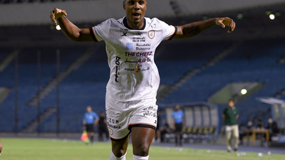 Veteran striker Odion Ighalo nets brace for his club in Saudi Arabia