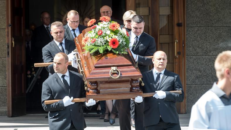 TORUŃ PROFESOR LECH MORAWSKI POGRZEB (pogrzeb)