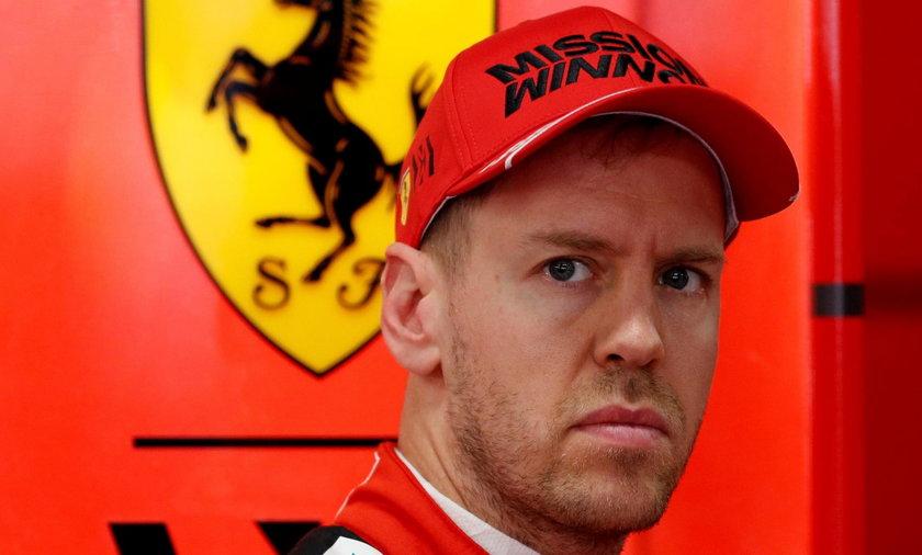 Sebastian Vettel odchodzi z Ferrari
