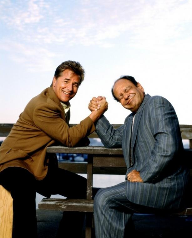 "Don Johnson i Cheech Marin w serialu ""Nash Bridges"""