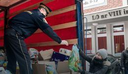 Do Lwowa ruszyła ciężarówka z pomocą na święta