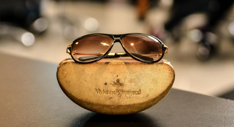 The Vivienne Westwood Sunglasses' are expectedly 'old'