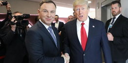 Trump sprawi przyjemność Dudzie? Już wszystko jasne