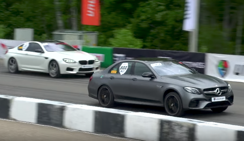 Merc-AMG E63 S vs 750 KM Audi RS7 vs 750 KM BMW M6
