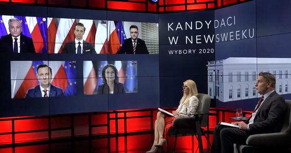 "Wybory 2020. Debata prezydencka ""Newsweeka"""