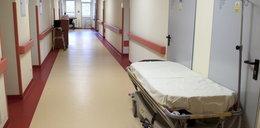 Noworodek porzucony na szpitalnym korytarzu