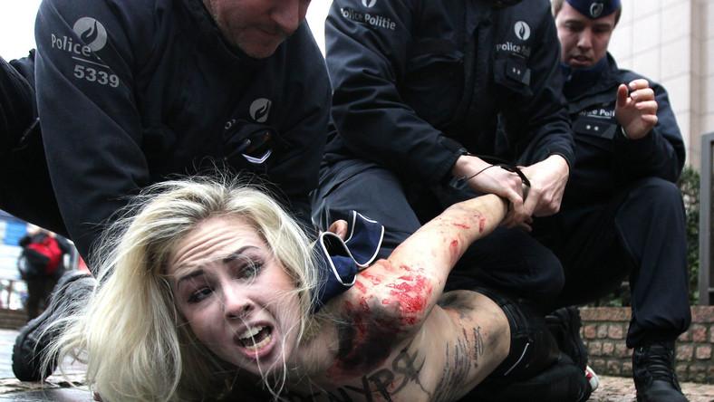 Aktywistkom Femenu nie podoba się pomysł negocjacji z Putinem