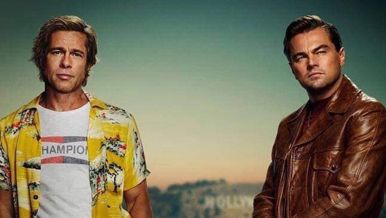 "Brad Pitt i Leonardo Di Caprio w filmie ""One Upon a Time in Hollywood"""