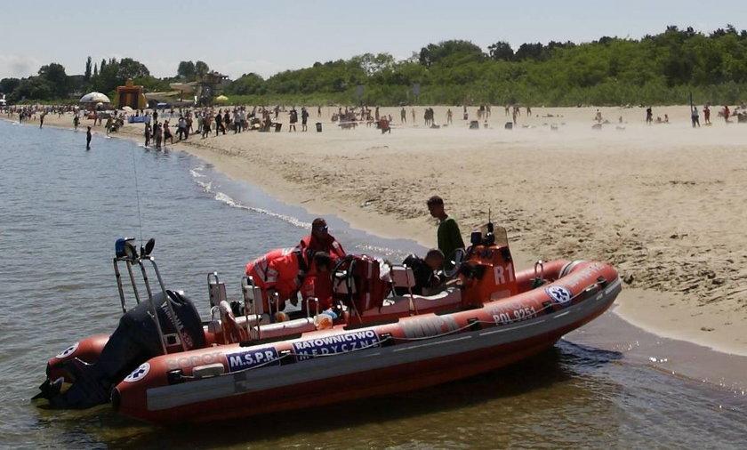 Tragedia na plaży w Sobieszewie. Nie żyje 31-latka