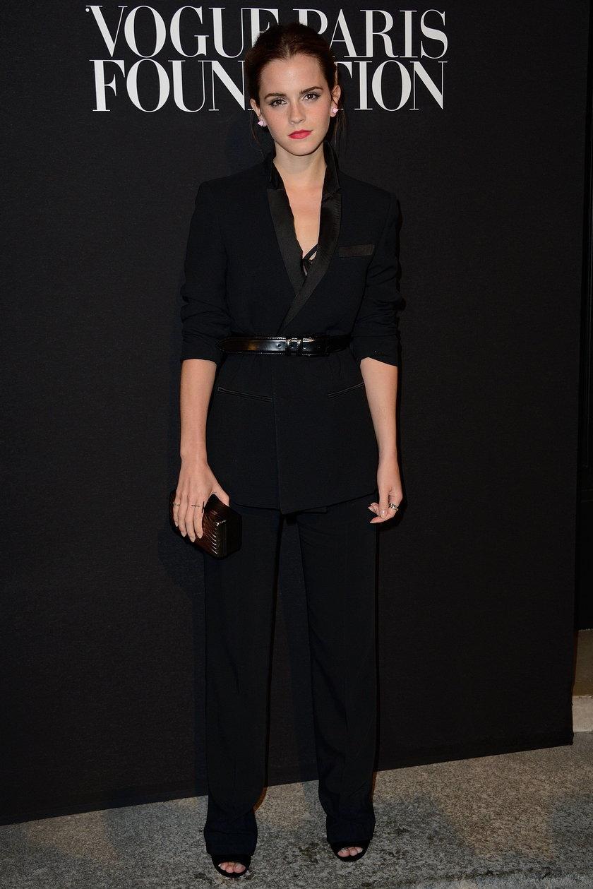 Emma Watson na gali Vogue Foundation