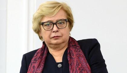 Małgorzata Gersdorf leczy się nielegalnie amantadyną