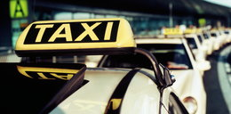 Napadł na taksówkarkę