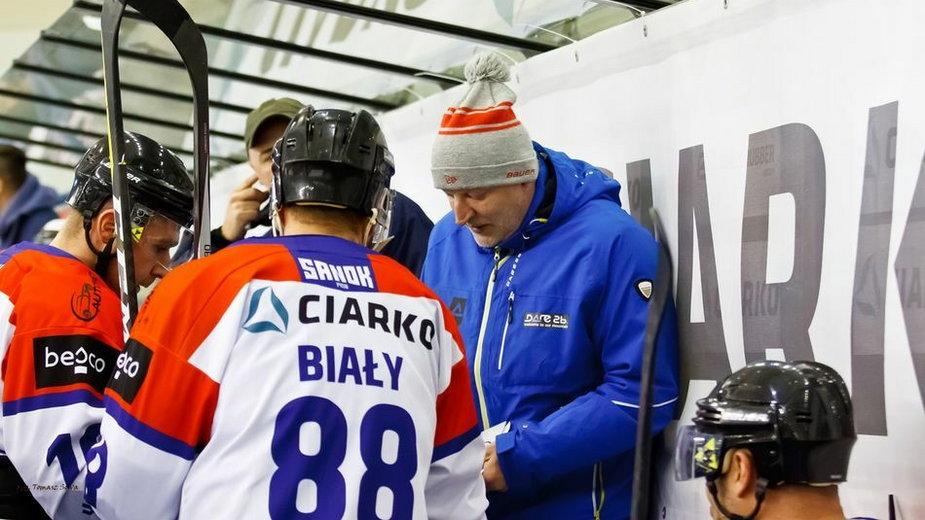 Trener Ciarko STS Sanok Marek Ziętara