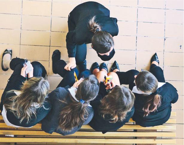 Gimnazjum to najtrudniejszy wiek dla młodzieży – mówią specjaliści Fot. Andrzej Monczak/Agencja Gazeta