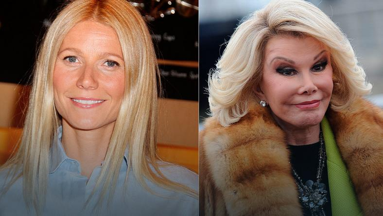 Gwyneth Paltrow i Joan Rivers