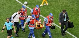 Euro 2020. Makabryczny upadek reprezentanta Rosji. Prosto z boiska trafił do szpitala
