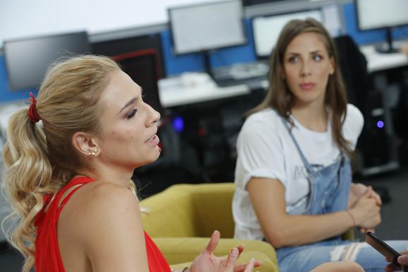 Tijana Malešević i Jovana Stevanović