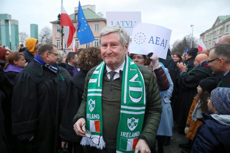 Jeden z sędziów Sądu Najwyższego Irlandii, John MacMenamin