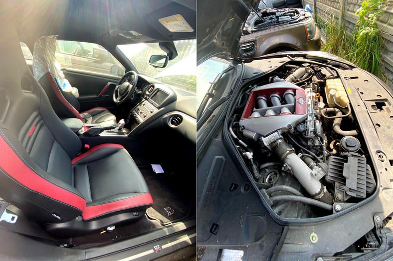 Nissan GTRwystawiony na licytację przez US w Częstochowie