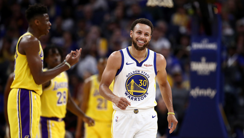 NBA: Stephen Curry żartuje z Michaela Jordana