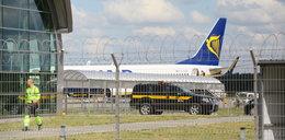 Mały samolot rozbił się w Modlinie. Zablokowano ruch na lotnisku