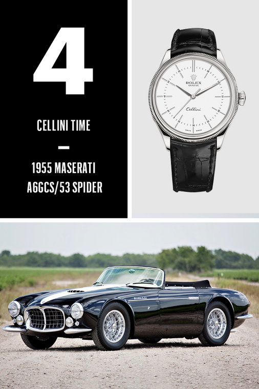 The Hottest Cars and Luxury Watches of 2019