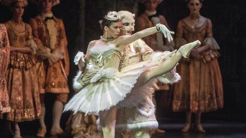 """Próba generalna """"Śpiącej królewny"""" w wykonaniu English National Ballet"""