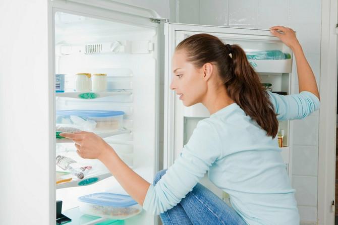 Temperatura nije jednaka u svim delovima frižidera