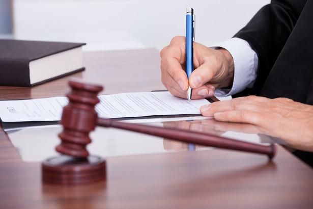 Sędzia przyznał się do popełnienia zarzucanych mu czynów