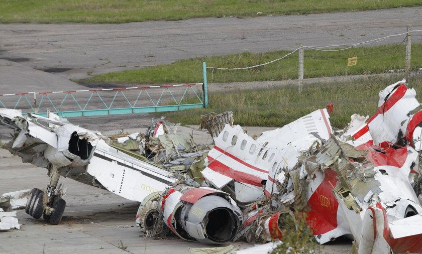 Wrak samolotu tu-154