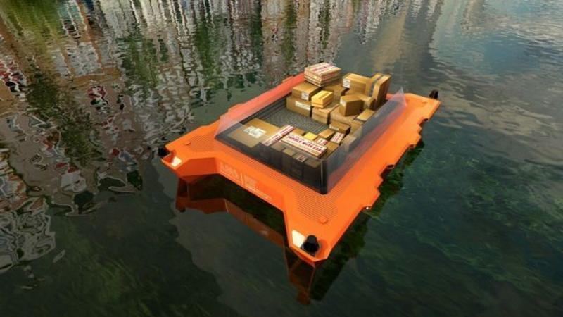Amsterdam poligonem testowym autonomicznych łodzi