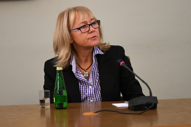 Danuta Misiewicz zeznaje przed komisją śledczą ds. Amber Gold