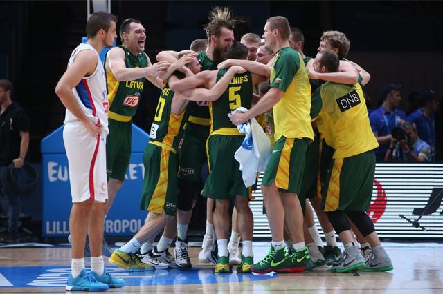 Kobni za Australijance: Košarkaši Litvanije