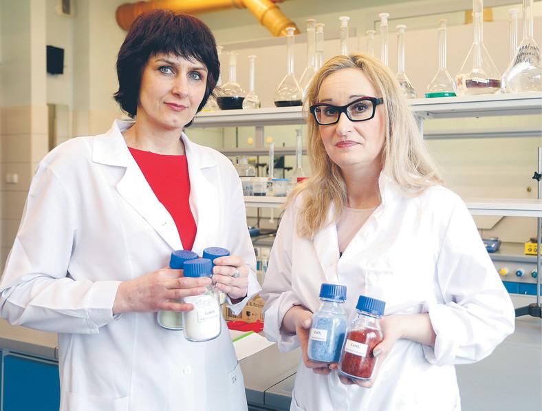 Dr inż. Dorota Kopyto i dr inż. Katarzyna Leszczyńska-Sejda z gliwickiego Instytutu Metali Nieżelaznych