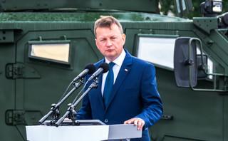 Błaszczak: Robimy wszystko, aby w Polsce powstał Fort Trump