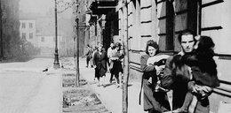 """3 sierpnia 1944 Trzeci dzień walk Niemcy wykorzystują """"żywe tarcze"""""""