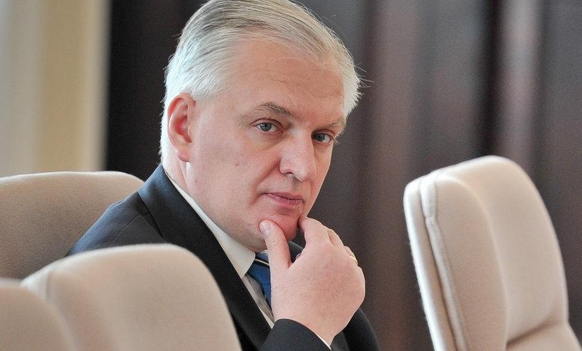 Minister Jarosław Gowin.