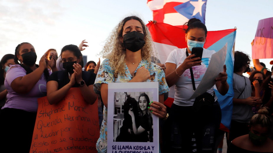 Protesty po morderstwie w Portoryko