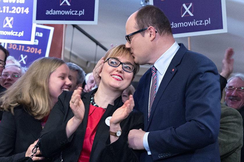 Magdalena, Paweł i Antonina Adamowiczowie
