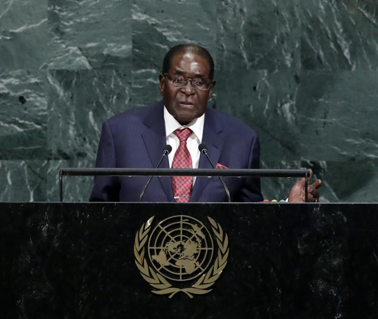 Zimbabve Robert Mugabe