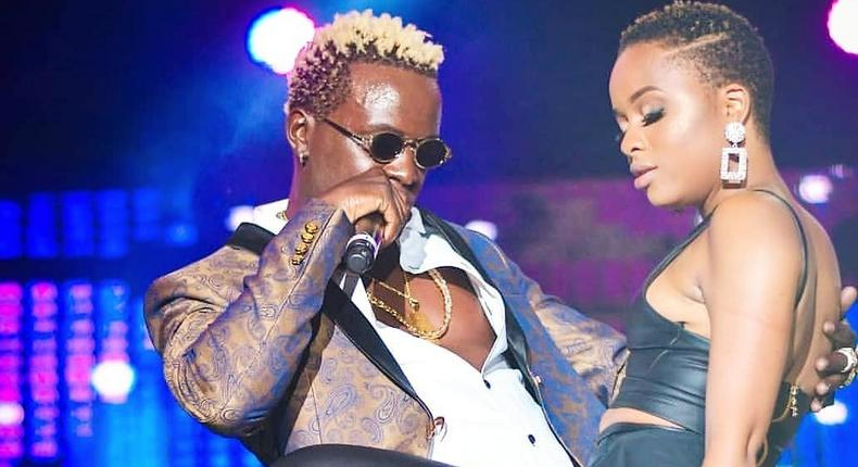 Willy Paul and Nandy (Instagram)