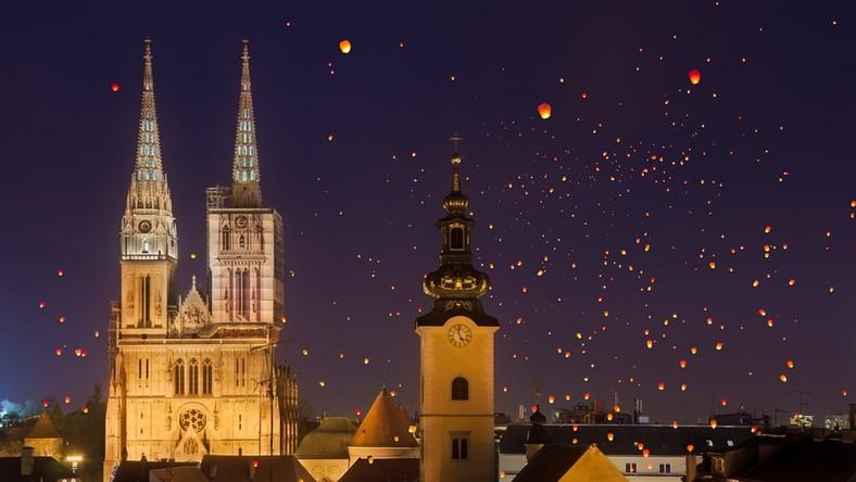 Lampiony nad Zagrzebiem; fot, Matija Spelic