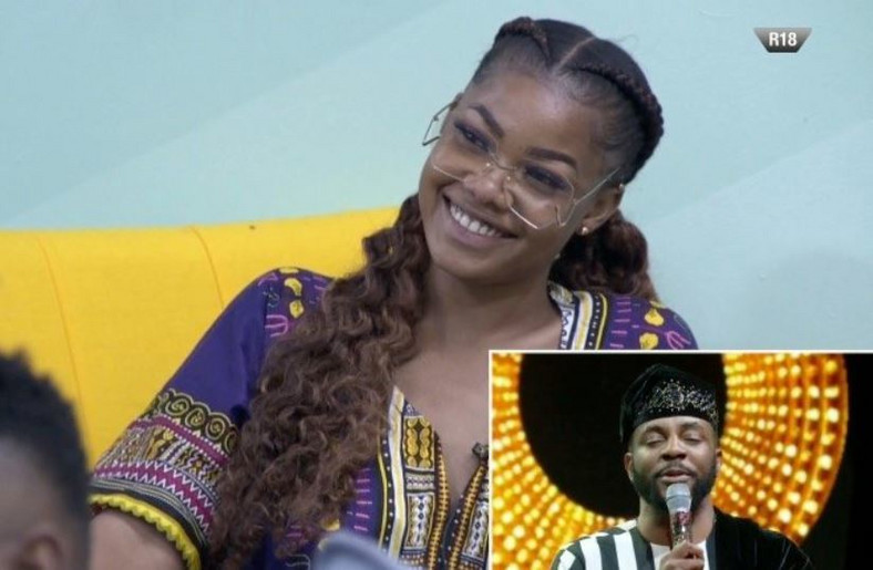 Easily irritated and over confident Tacha gets her first strike in the 7th week. [Twitter/BBNaija]