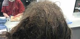 Fryzjerka przez 13 godzin ratowała włosy nastolatki. Miała ważny powód