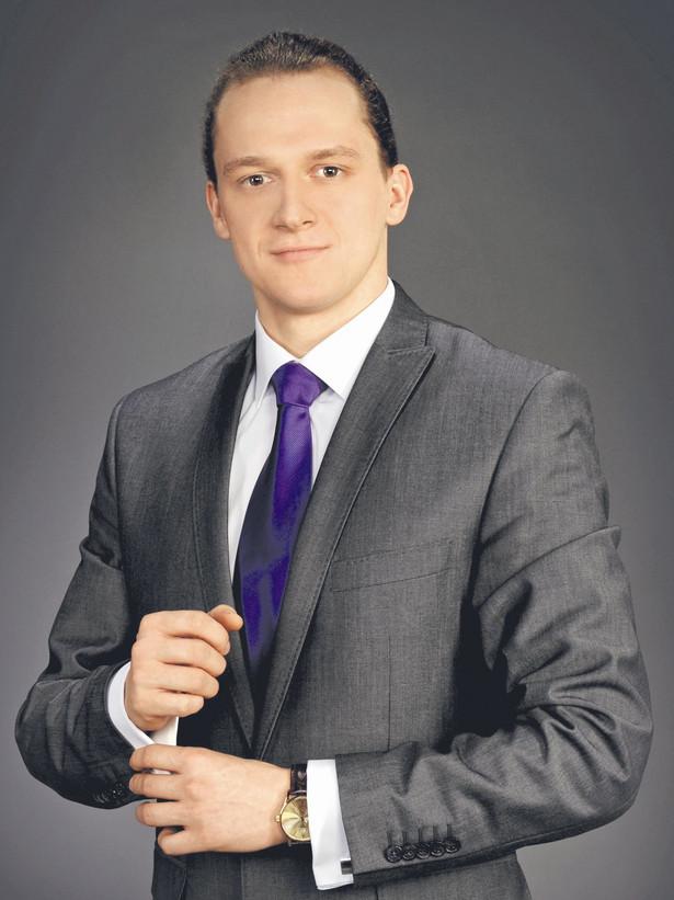 Tomasz Osak, prawnik w kancelarii Chałas i Wspólnicy