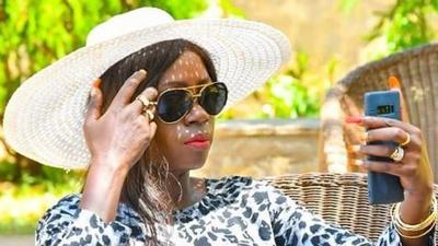 Akothee's reaction after Rue Baby's dance with Kizz Daniel