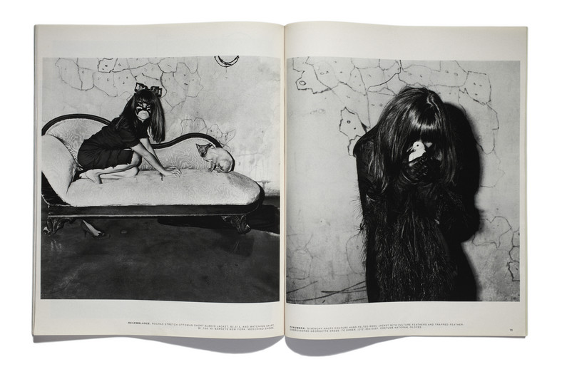 "From ""The Selma Blair Witch Project: Fall's Dark Silhouettes Have a Way of Creeping Up on You,"" published October 30, 2005 Courtesy Gagosian Gallery, New York; Exhibition organized by Aperture Foundation, New York, curated by Kathy Ryan and Lesley A. Martin"